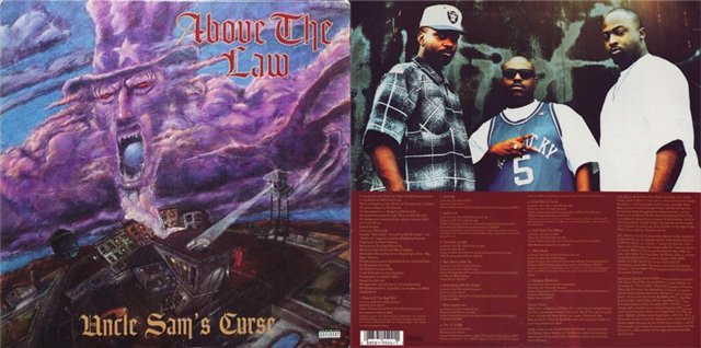 Классический G-Funk альбом Above The Law «Uncle Sam's Curse» актуален как никогда!