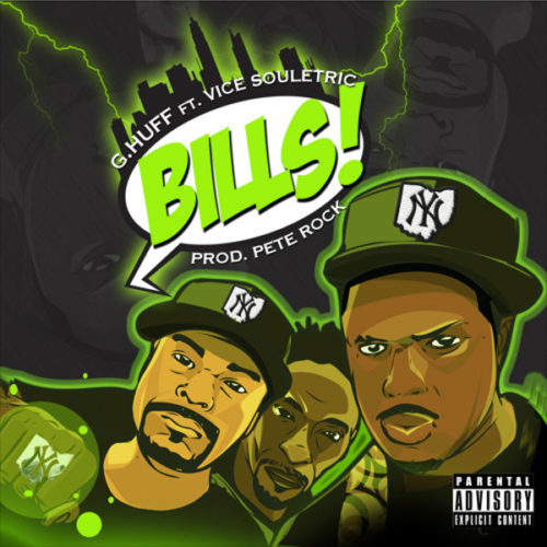 Pete Rock спродюсировал трек G.Huff «Bills» feat. Vice Souletric