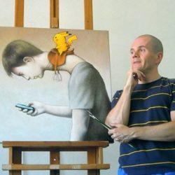 Польский иллюстратор Павел Кучинский умело использует сатиру, чтобы изобразить сегодняшнюю социальную, политическую и культурную реальность