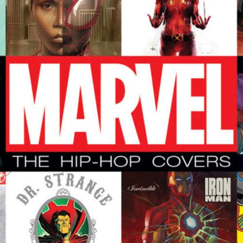 Marvel показали еще несколько вариантов хип-хоп обложек в стиле комиксов