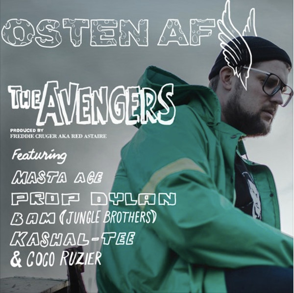 """Osten af, Masta Ace, Afrika Baby Bam (Jungle Brothers), Kashal-Tee, Prop Dylan & Coco Rouzier «The Avengers"""""""