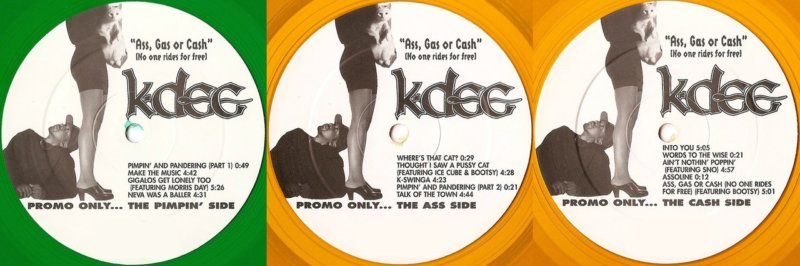 K-Dee - Ass, Gas Or Cash No One Rides For Free - YouTube