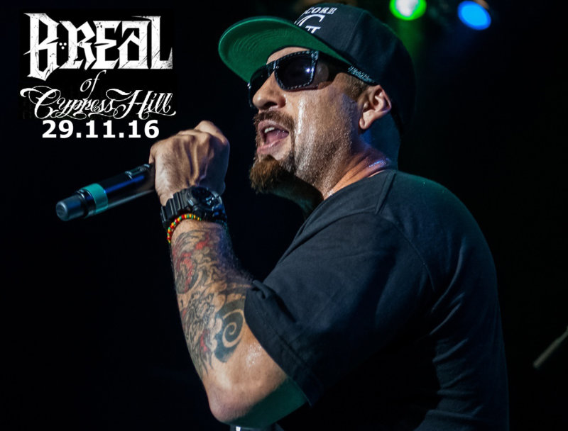 B-Real (Cypress Hill) в Москве