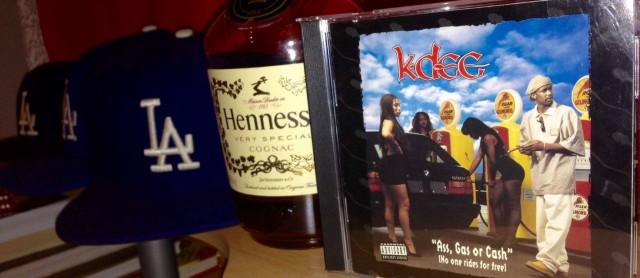 Отменный G-Funk альбом, с 22-летней выдержкой: K-Dee »Ass, Gas Or Cash»