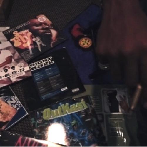 Curren$y рассказал о своих музыкальных предпочтениях в новом клипе «All On One Tape»