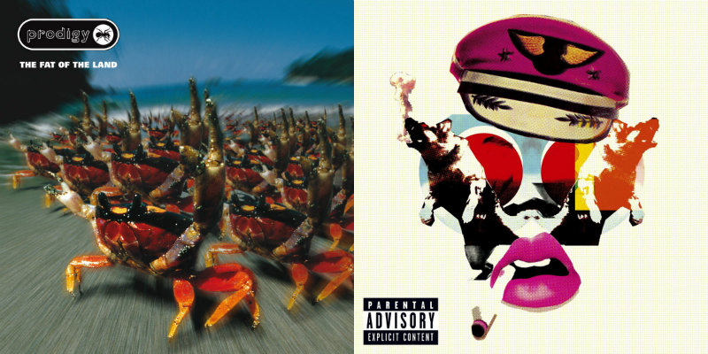 The Prodigy – «The Fat Of The Land» (1997) / «Always Outnumbered, Never Outgunned» (2004)