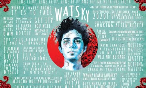 Новое видео от техничного и интересного Watsky «Don't Be Nice»