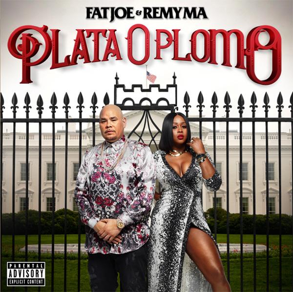 Обложка и треклист совместного альбома Fat Joe и Remy Ma «Plata O Plomo»