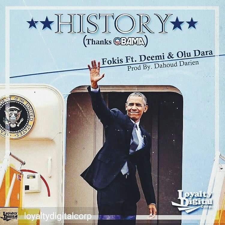Отец Nas'а, Fokis и Deemi поблагодарили Обаму, в треке «History»