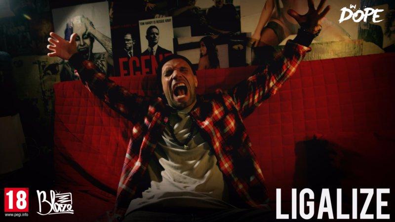 У Blaze'а на диване: Лигалайз