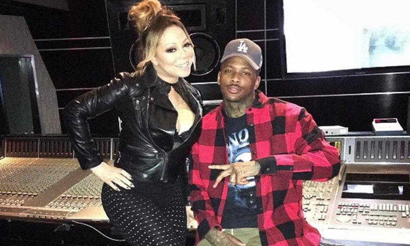 Mariah Carey и YG выступили на шоу Джимми Киммела