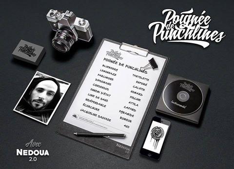 NEDOUA — «Poignée de Punchlines 2.0»