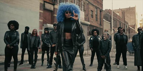 Власть чернокожим женщинам: свежее видео от Sonyaé Elise – «Run Up»