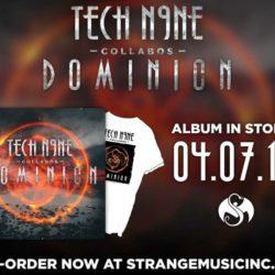 Стал доступен для предзаказа новый альбом Tech N9ne «Collabos: Dominion»