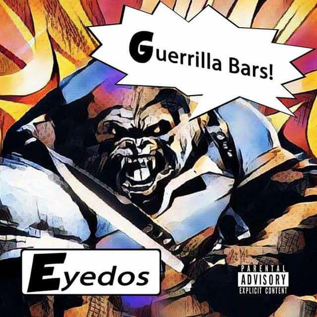 Новый техничный МС по имени Eyedos с альбомом «Guerrilla Bars»