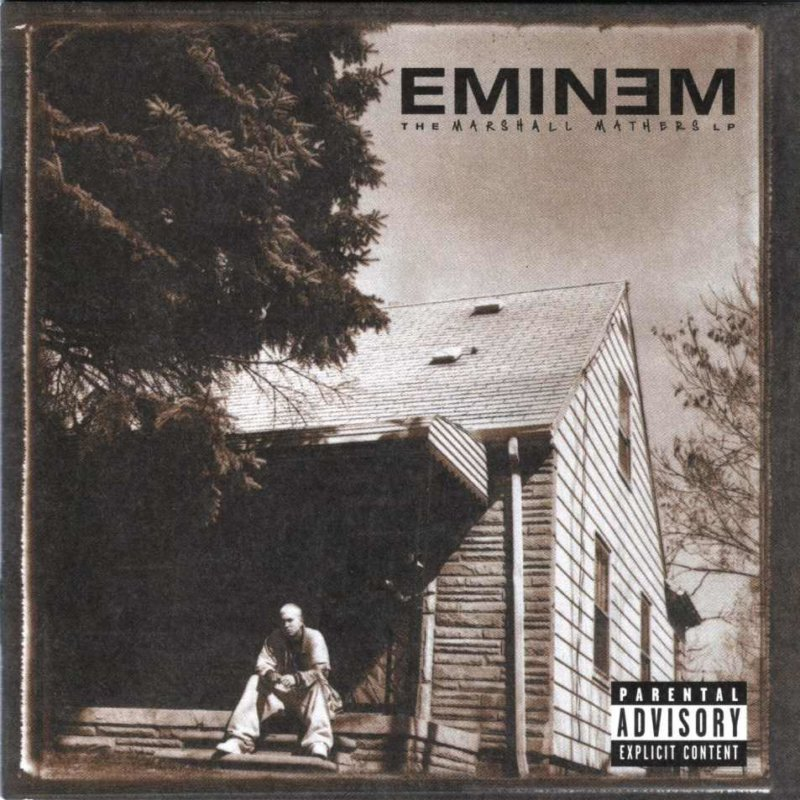 4. Eminem «The Marshall Mathers LP» (2000)