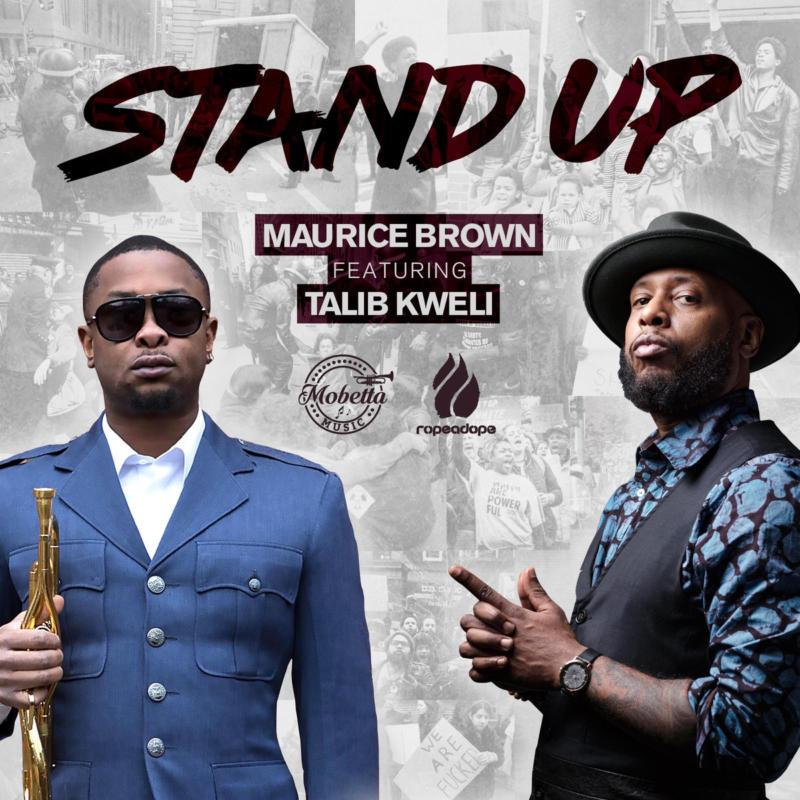"Talib Kweli записал джаз-рэп шедевр «Stand Up» с трубачом Maurice ""Mobetta"" Brown"