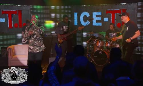 Ice-T и T.I. объединились в дуэт Ice-T.I. для шоу Джимми Киммела