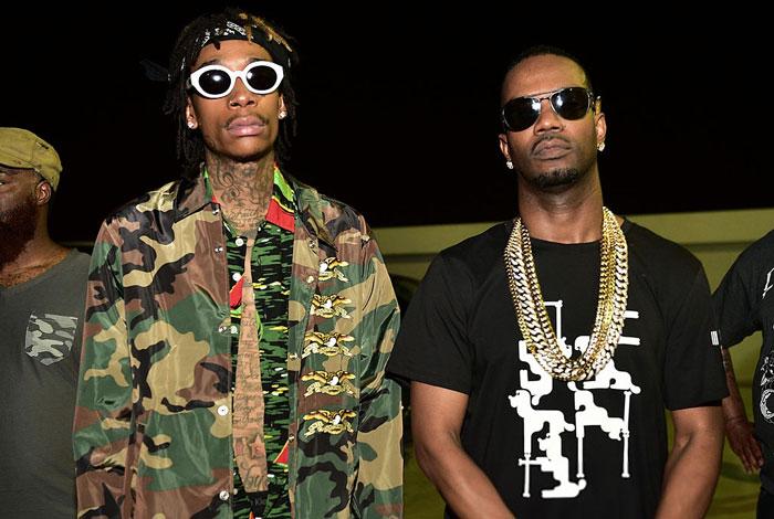 Juicy J & Wiz Khalifa – «Cell Ready»