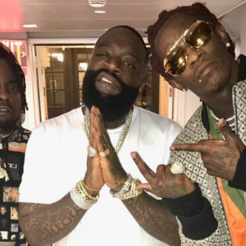 Rick Ross, Young Thug и Wale выступили на шоу Джимми Фэллона