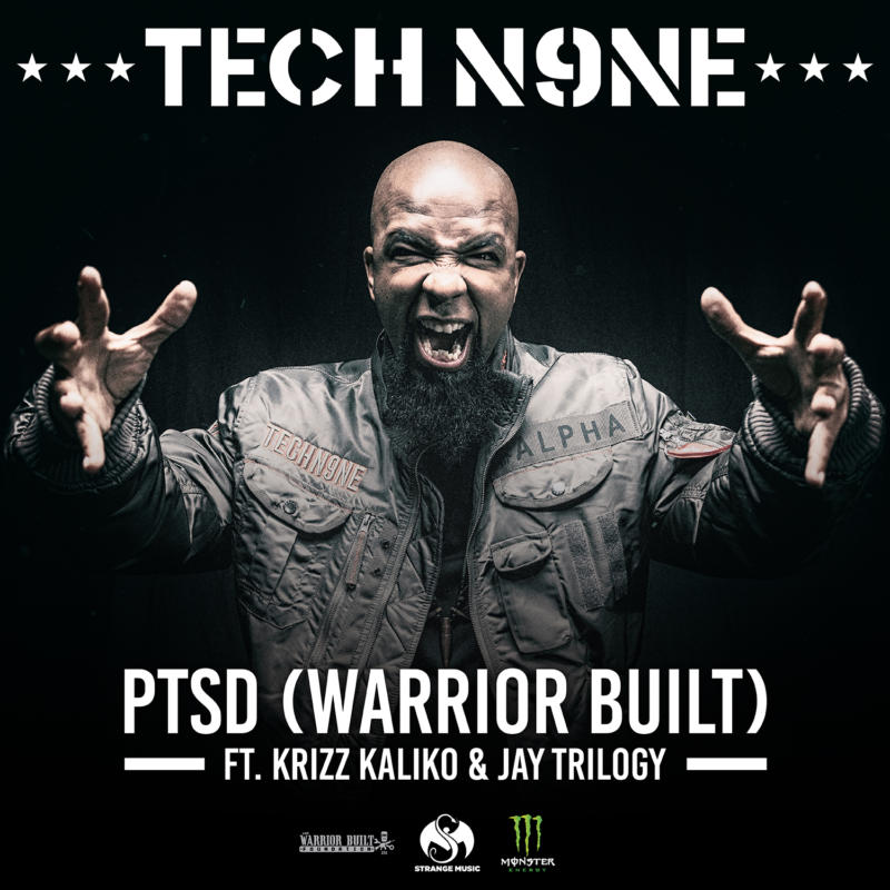 Tech N9ne – «PTSD (Warrior Built)» [Feat. Krizz Kaliko & Jay Trilogy]