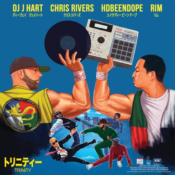 DJ J Hart Feat. Chris Rivers, Rim & HDBeenDope «Trinity»