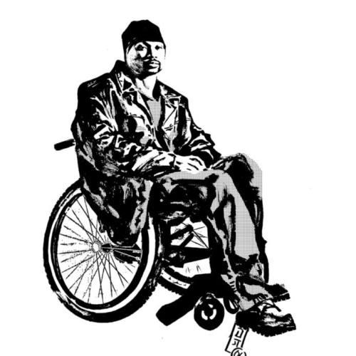 Выходит виниловые издание от рэпера в инвалидной коляске MF Grimm