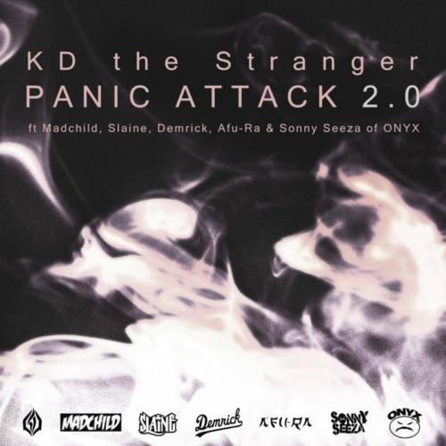 Madchild, Slaine, Demrick, Afu-Ra и Sonny Seeza на треке харьковского исполнителя KD the Stranger