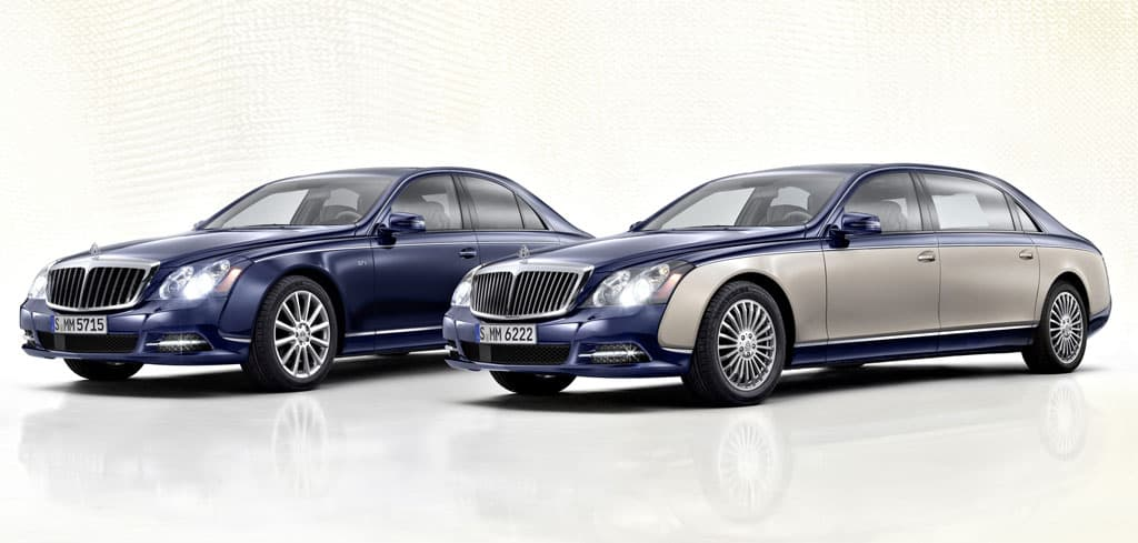 Maybach 62 and 57