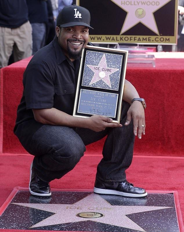 Ice Cube получил звезду на Голливудской Аллее Славы