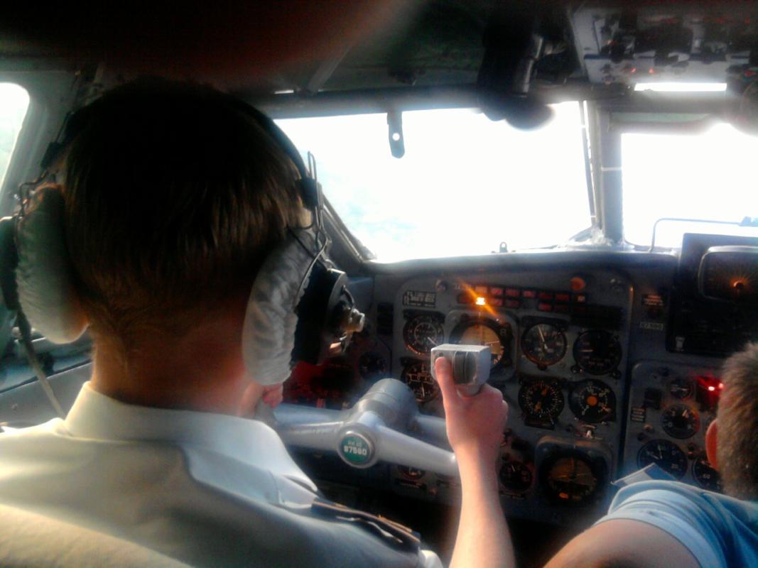 Интервью с командиром воздушного судна и дебютный альбом «Реалии жизни»