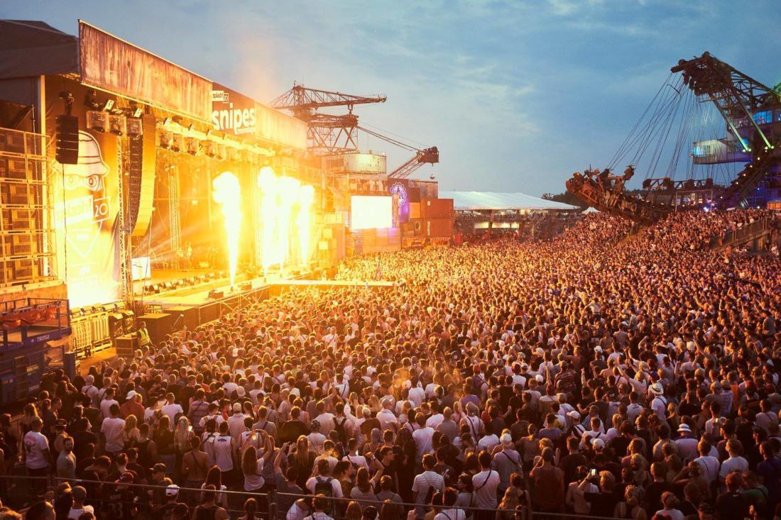 В Германии прошёл 4-х дневный хип-хоп фестиваль Splash! с участием Nas