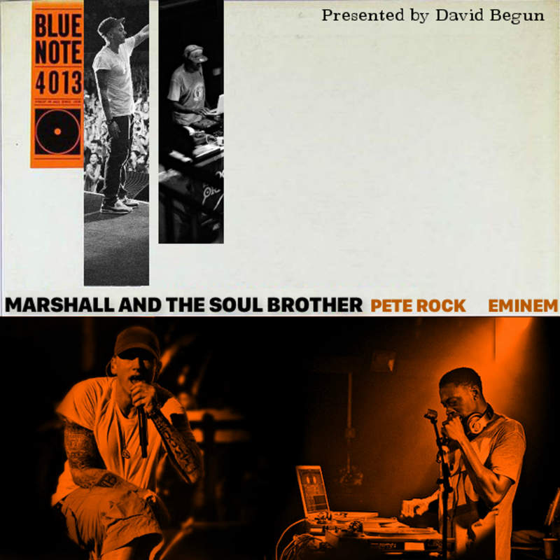 David Begun — «Marshall & The Soul Brother» (Eminem & Pete Rock Mashup Mixtape)