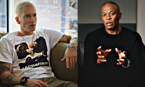 Dr.Dre и Eminem рассказали об их первой встрече и о первых секундах работы на студии