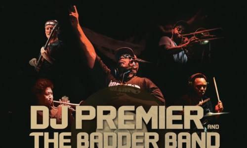 Смотрите живое выступление DJ Premier & The Badder Band