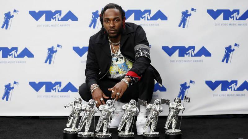 Kendrick Lamar стал триумфатором MTV Video Music Awards