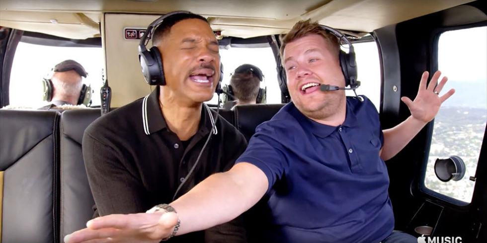 Will Smith в программе «Авто-караоке»