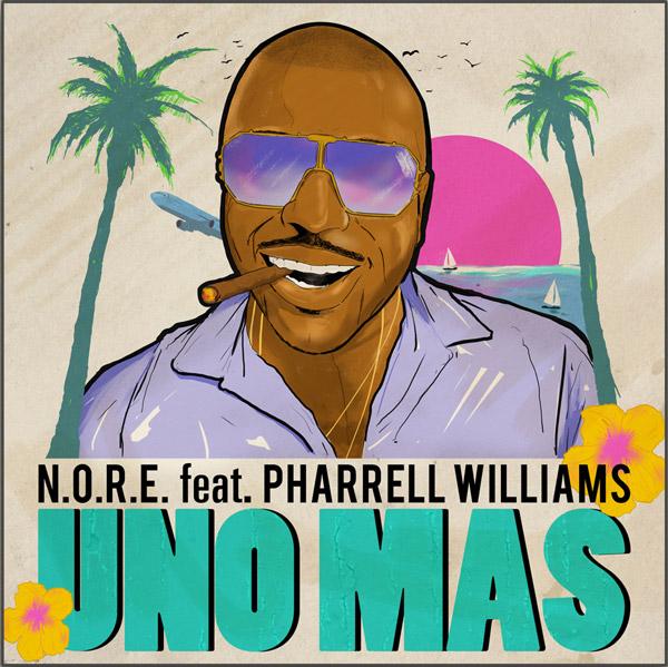 Pharrell Williams & N.O.R.E. предлагают проводить лето под позитивный трек «Uno Más»