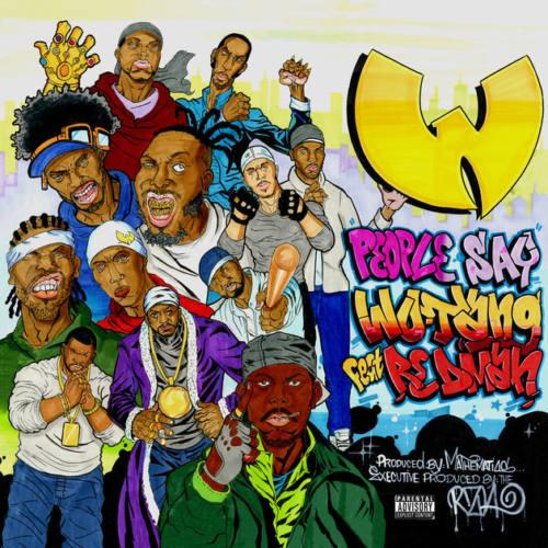 Вышел новый трек Wu-Tang Clan «People Say» ft. Redman