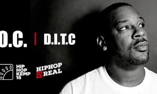 Эксклюзивное интервью O.C. (D.I.T.C.) для HipHop4Real