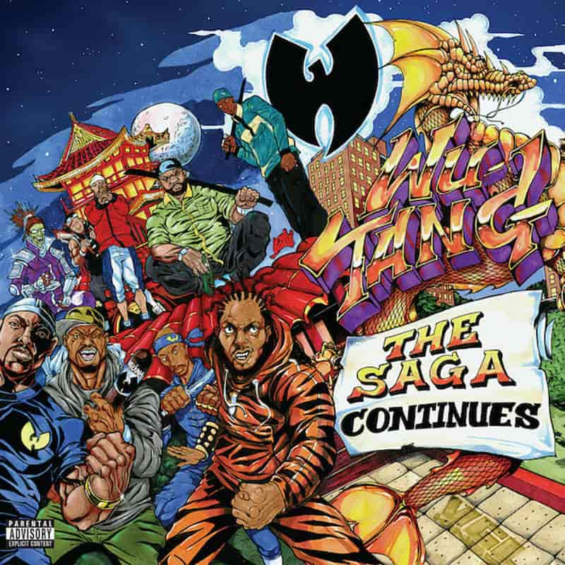 Wu-Tang Clan — «The Saga Continues»