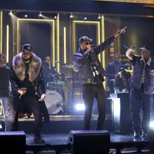 Wu-Tang Clan выступили на шоу Джимми Фэллона