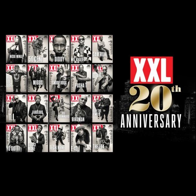Американский журнал XXL празднует 20-летие и подготовил 20 разных обложек с рэперами