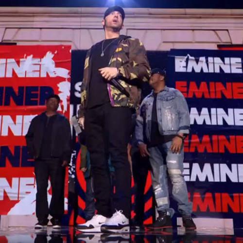 Eminem выступил на церемонии MTV Europe Music Awards в Лондоне