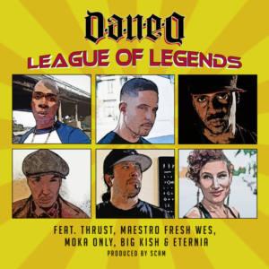 Несколько поколений канадского рэпа в одном видео Dan-e-o, Maestro Fresh Wes, Moka Only, Eternia «League Of Legends»