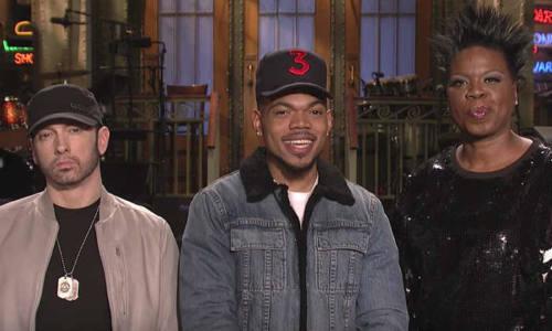 Eminem выступил на шоу Saturday Night Live