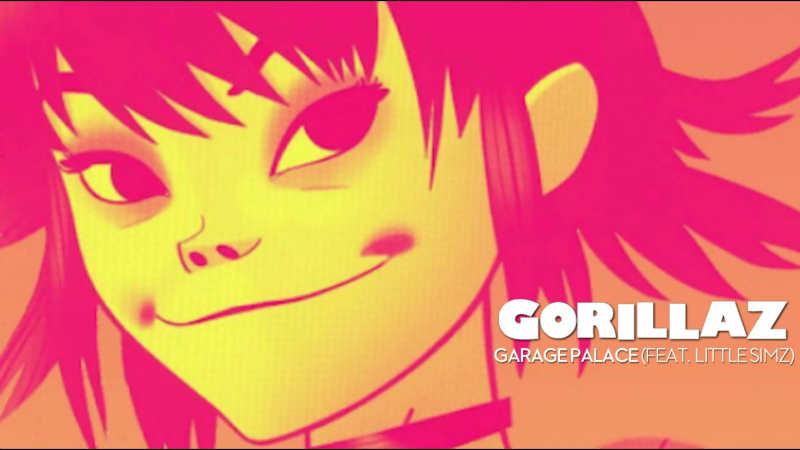 Gorillaz – «Garage Palace» (Feat. Little Simz)