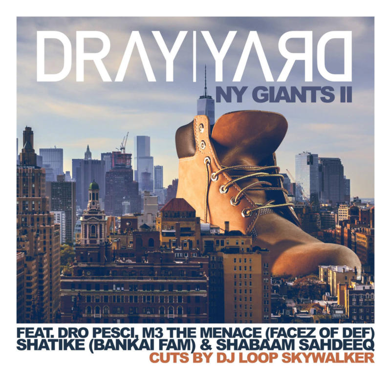 Белорусский продюсер Dray Yard выпустил три мощных сингла с МС из США