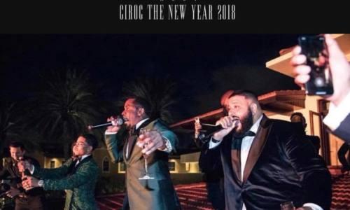 Посмотрите, как Diddy и DJ Khaled провели крутейшую Новогоднюю вечеринку