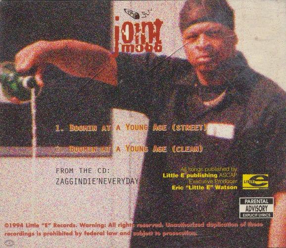 """Joint Mobb """"Boomin At A Young Age"""" (1994)"""